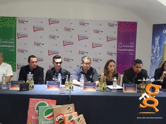 Rueda de prensa Festival Manzanillo Live 2018