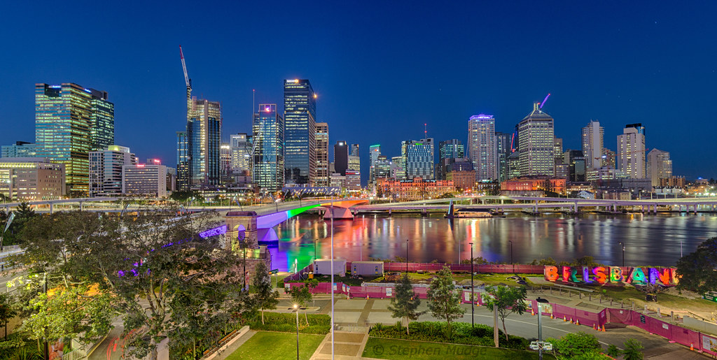 Brisbane at Blue Hour