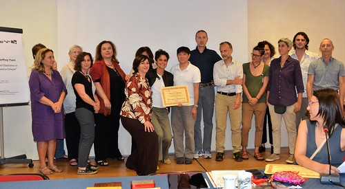 consegna diploma agopuntura Vincenza Drago maggio 2017