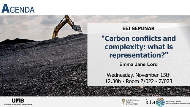 EEI Seminar- Emma Jane Lord