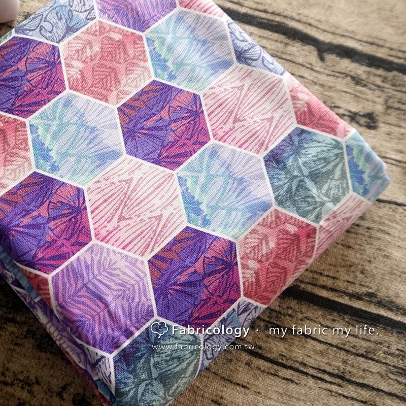 布學盒裝印花布(3尺)香蜂草 手工藝DIy拼布布料 SW001709-1