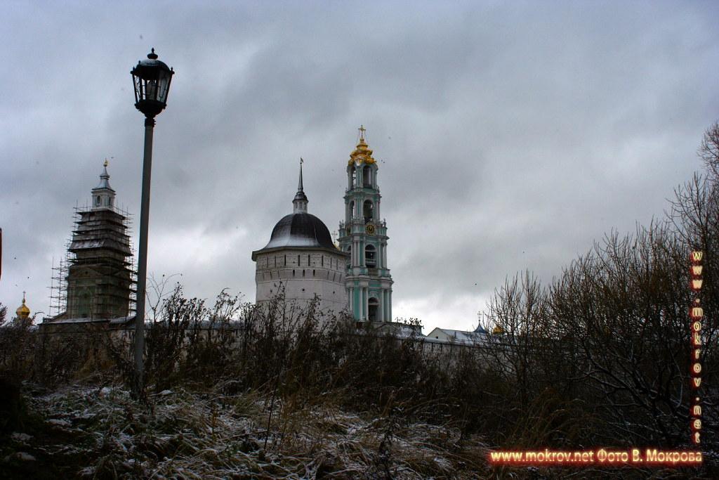 Город Сергиев Посад фотозарисовки