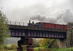Bellerophon, TLE charter Avon Valley Railway 7/11/17