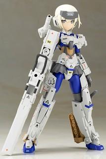 嶄新的聯名色彩!壽屋《Frame Arms Girl 骨裝機娘》「轟雷 by JUN WATANABE」 組裝模型