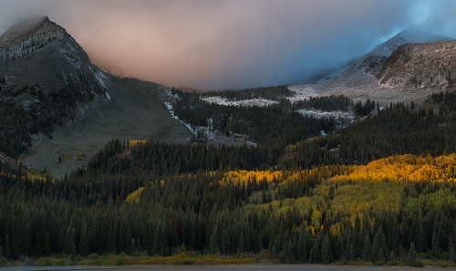 colorado crestedbutte keblerpass lostlakeslough mountains rockymountains fallfoliage aspens sunrise canon6d canonef24105mmf4l