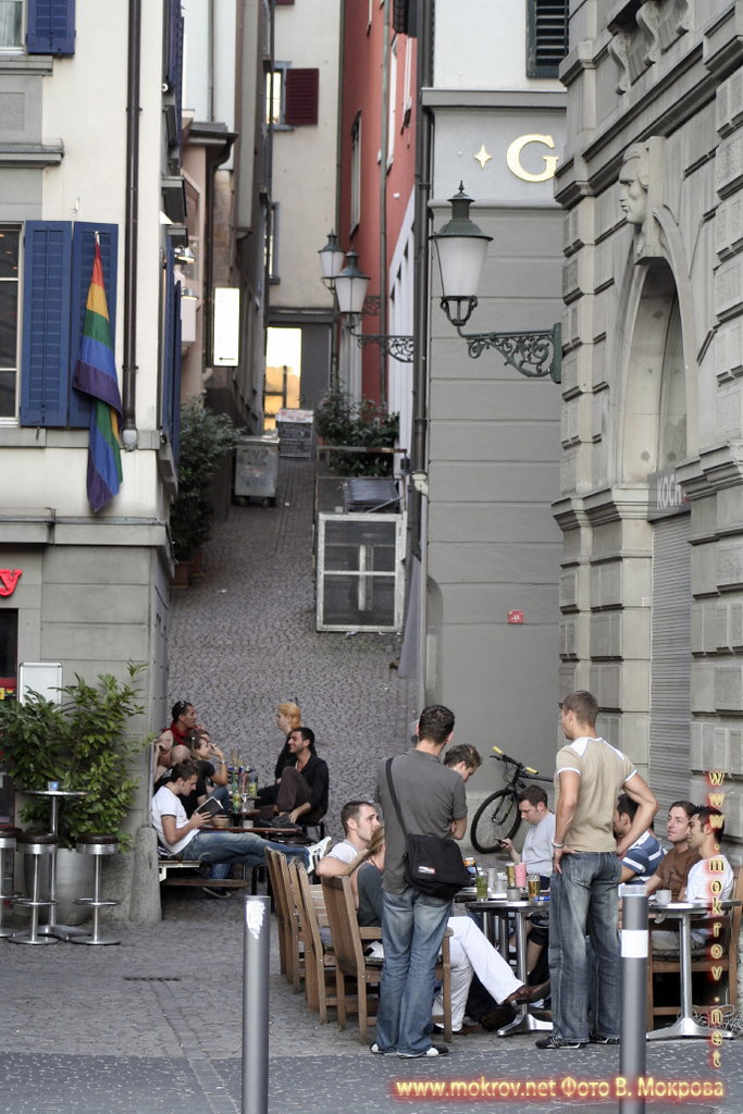 Город Цюрих - Швейцария прогулки туристов