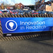 Redditch Station - sign - Innovation in Redditch