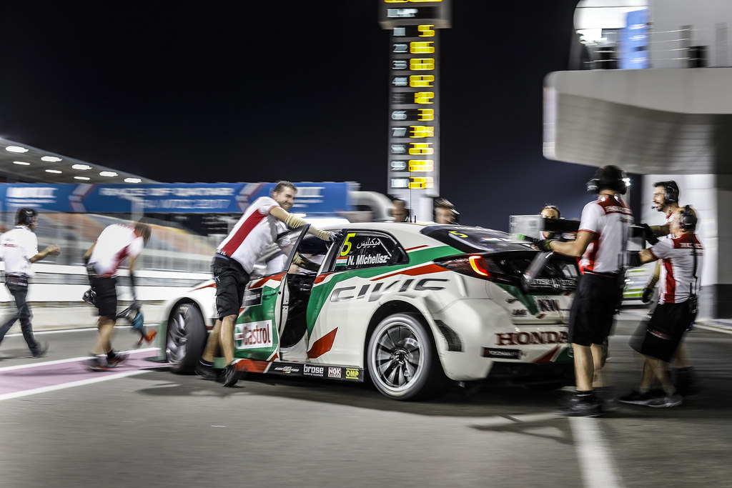 MICHELISZ Norbert, (hun), Honda Civic team Castrol Honda WTC, ambiance portrait during the 2017 FIA WTCC World Touring Car Championship race at Losail  from November 29 to december 01, Qatar - Photo Francois Flamand / DPPI