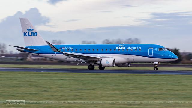 KLM Cityhopper Embraer 175 PH-EXM