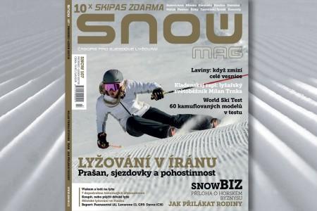 SNOW 107 - 10x skipas zdarma
