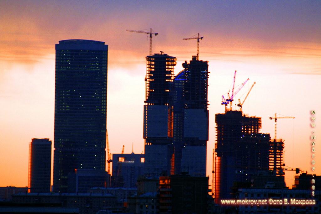 фотография Московский международный деловой центр «Москва-Сити»