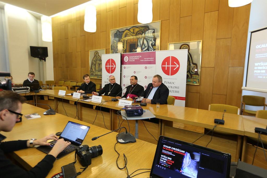 Konferencja Prasowa przed 9. Dniem Solidarności z Kościołem Prześladowanym