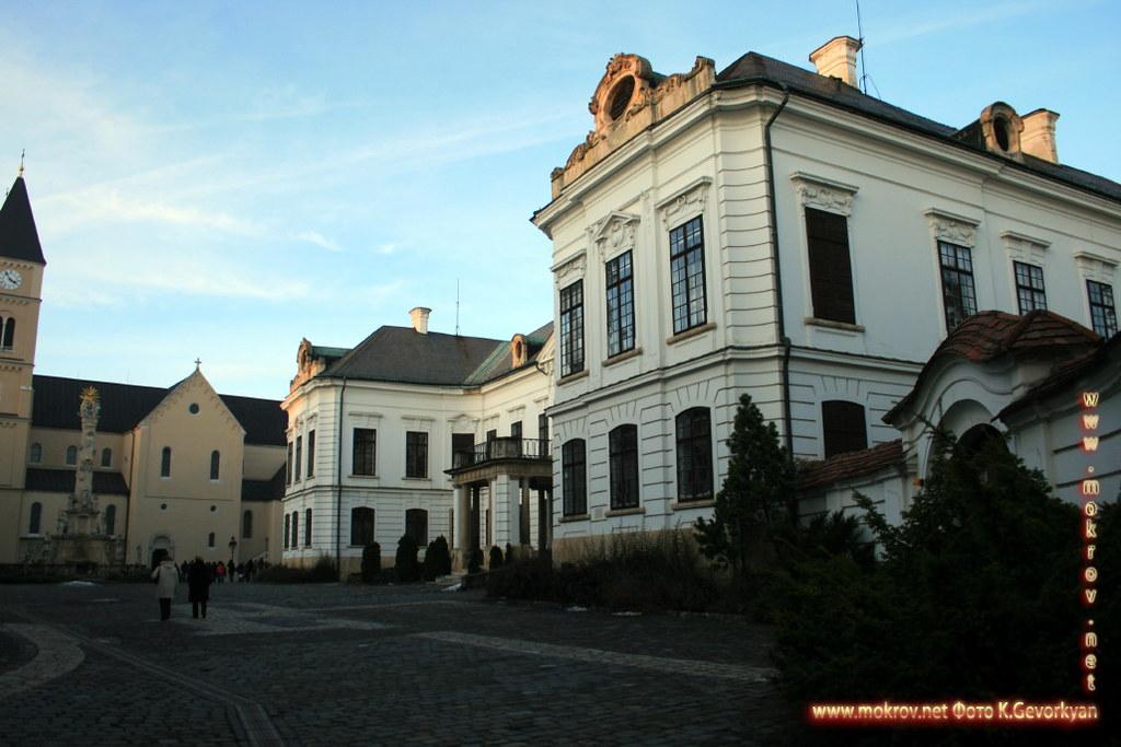 Веспрем — город в Венгрия прогулки туристов с Фотоаппаратом