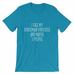 Doberman Pinscher Shirt, Doberman Shirt, Doberman Gift, Doberman Gifts, Doberman Lover, Doberman Lovers, Doberman Clothing, Doberman, Doberm by 25VintagePlace