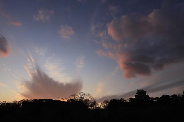 大阪城-12-狂乱雲5, Canon EOS 50D, Canon EF-S 10-22mm f/3.5-4.5 USM