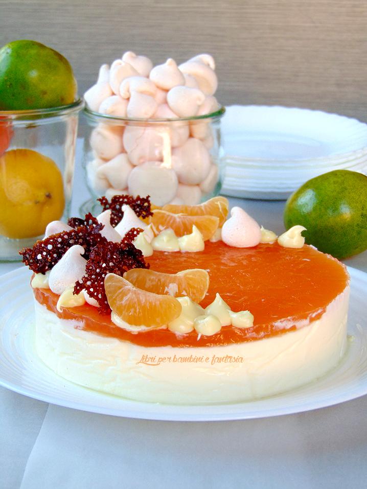 b3514ee0e907 Calendario del cibo italiano  bavarese al mapo con gelatina di ...