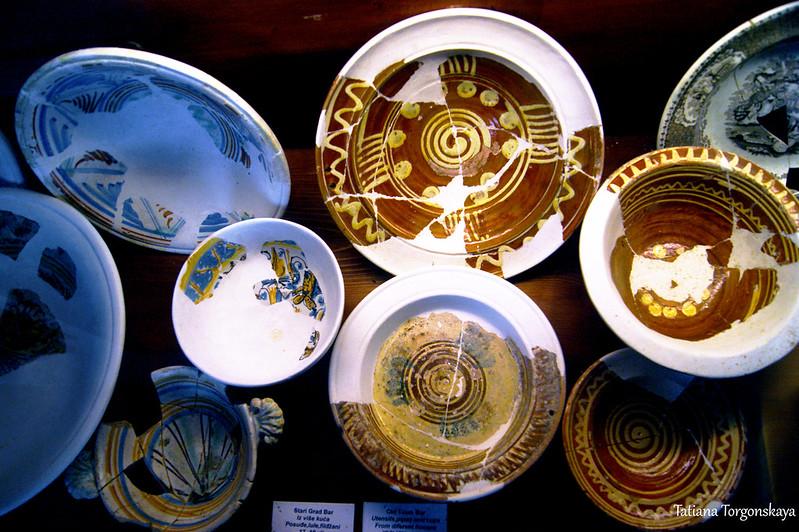 Посуда из домов Старого Бара