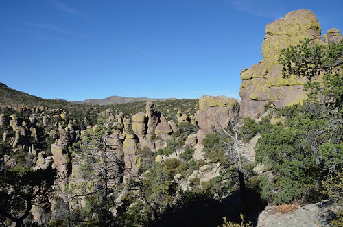 Chiricahua National Monument from the top