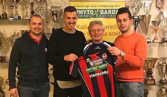 Mercato: la Virtus Verona ingaggia l'attaccante De Marchi