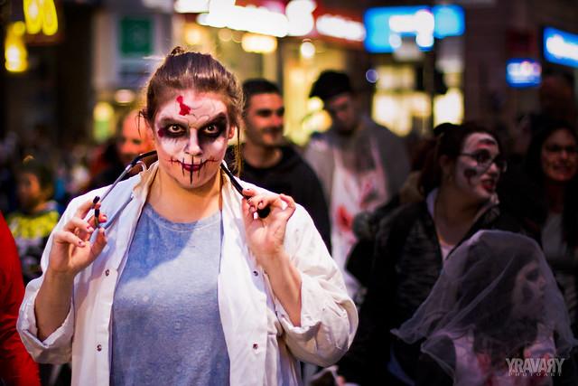La Marche des Zombies de Montréal 2017 / 2017 Montreal Zombie Walk / 28.10.2017