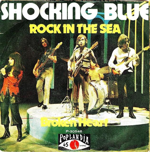 Shocking Blue - Rock In The Sea - Spain - 1972