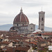 Views from the outdoor terrace of B Roof: Cathedral of Santa Maria del Fiore