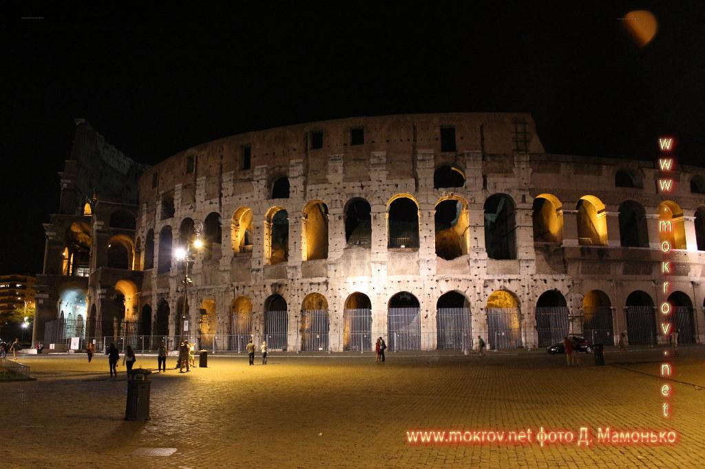 Исторический центр Рима — Италия туристы с Фотоаппаратом