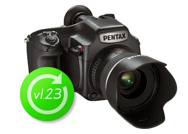 PENTAX 645Z Firmware update v1.23