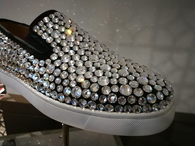 Jewelled slippers