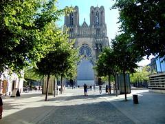 arhitectură gotică-catedrala din reims/gothic architecture-reims cathedral