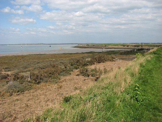 Bradwell Creek at Bradwell Waterside