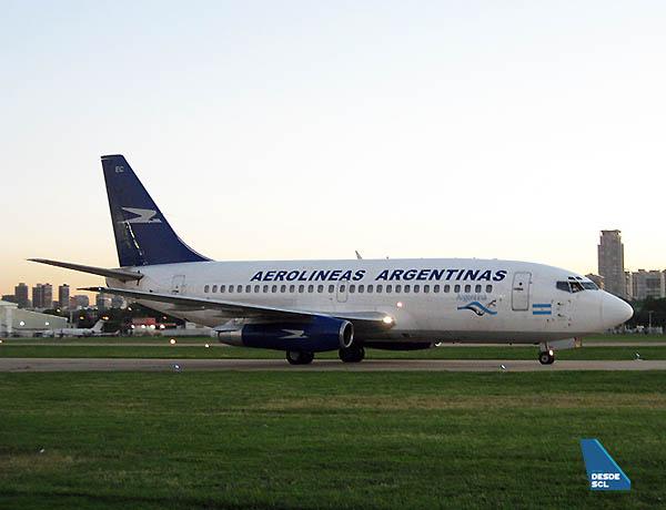 Aerolíneas Argentinas B737-200 Adv (Gaston Doval)