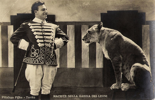 Bartolomeo Pagano in Maciste nella gabbia dei leoni (1926)