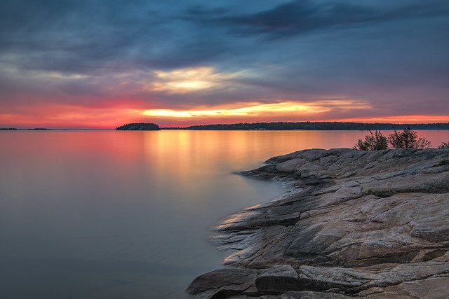 Sunset at Killbear Provincial Park