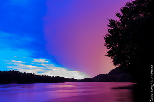 interstatestatepark minnesota stcroixnationalscenicriverway stcroixriver bluehour civiltwilight clouds ethereal expressivesky forest landscape reflection river riverbluff seasons silhouette sky summer sunset trees twilight water longexposer