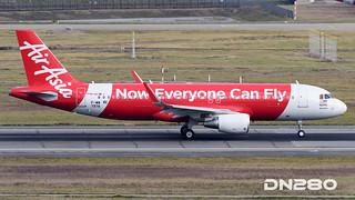 AirAsia A320-216 msn 7978