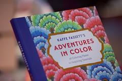 Kaffe Fassett Exhibition at Mottisfont Abbey - 2 December 2017