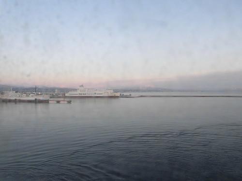 青森港へ入港