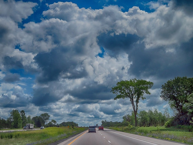Eastbound, Highway 401