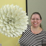 Creative Craft Hour: Paper Book Wreath