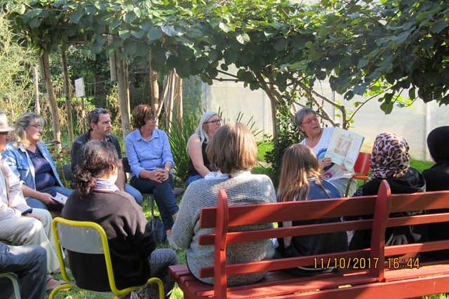 Lectures au jardin de R.E.L.A.I.S