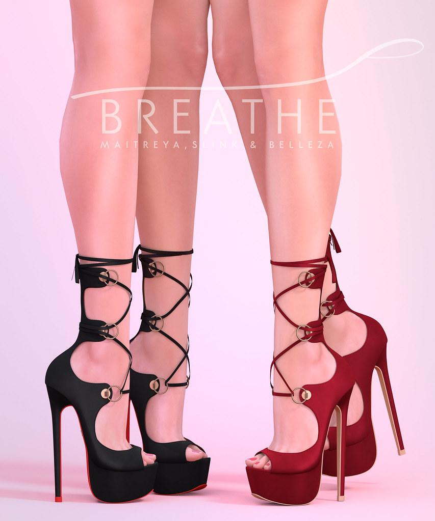 [BREATHE]-Jessica Heels - TeleportHub.com Live!