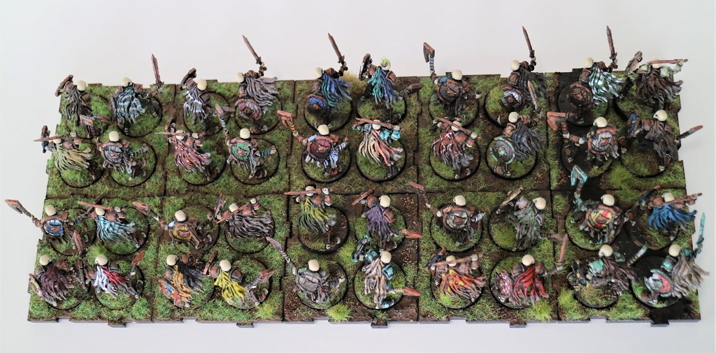 Runewars MIniatures Reanimates Top Back