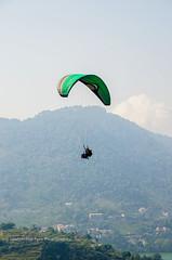 Paragliding near NainiTal, Uttarakhand