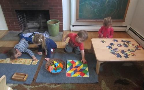 afternoon mat work