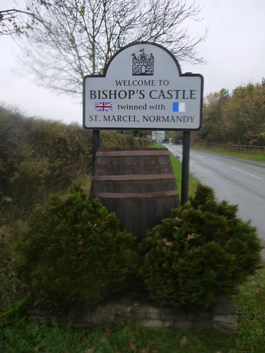 Beery Welcome to Bishop's Castle
