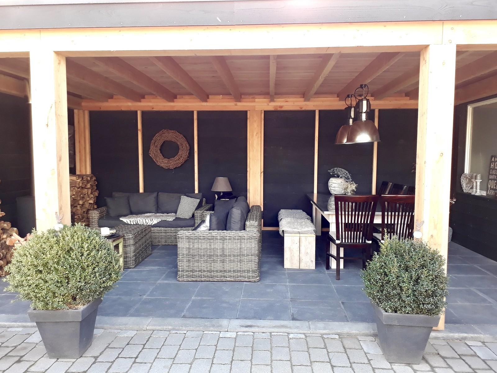 Inrichting Overkapping Tuin : Tuin overkapping inrichting tuin overkapping buitenbar piz zapp