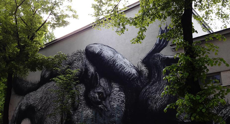 Street art in Wenen | Mooistestedentrips.nl