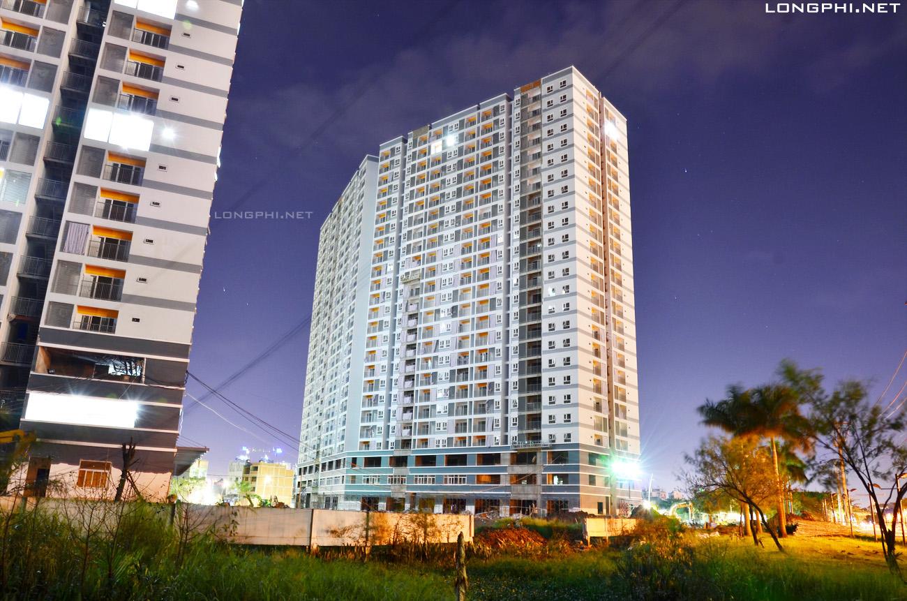 Mặt trong tháp Bắc M1 Jamona Apartment ngày 15-11-2017.