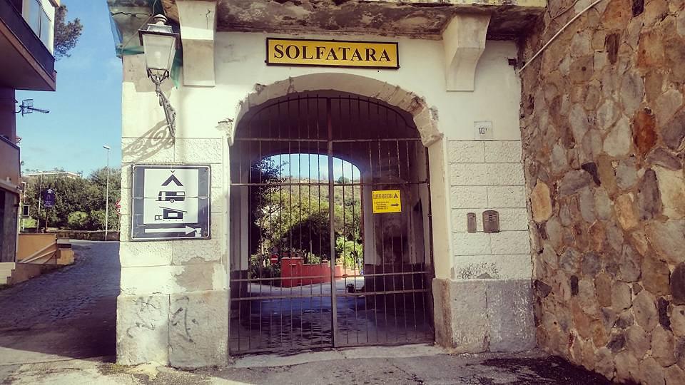 Solfatara Pola Felgrejskie Włochy